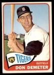 1965 Topps #429  Don Demeter  Front Thumbnail