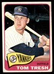 1965 Topps #440  Tom Tresh  Front Thumbnail