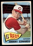 1965 Topps #418  Johnny Edwards  Front Thumbnail