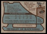 1979 Topps #128  Ted Bulley  Back Thumbnail