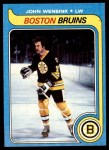 1979 Topps #182  John Wensink  Front Thumbnail