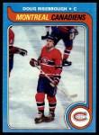 1979 Topps #13  Doug Risebrough  Front Thumbnail