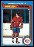 1979 Topps #233  Pierre Larouche  Front Thumbnail