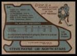 1979 Topps #64  Steve Payne  Back Thumbnail
