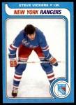 1979 Topps #195  Steve Vickers  Front Thumbnail