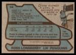 1979 Topps #58  Ross Lonsberry  Back Thumbnail