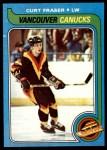 1979 Topps #117  Curt Fraser  Front Thumbnail