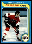 1979 Topps #75  Rick MacLeish  Front Thumbnail