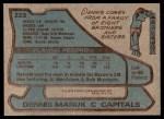 1979 Topps #223  Dennis Maruk  Back Thumbnail