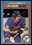 1979 Topps #174  Blake Dunlop  Front Thumbnail
