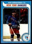 1979 Topps #78  Ron Greschner  Front Thumbnail