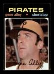1971 Topps #416  Gene Alley  Front Thumbnail