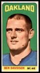 1965 Topps #137  Ben Davidson  Front Thumbnail