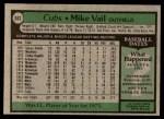 1979 Topps #663  Mike Vail  Back Thumbnail