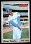 1970 Topps #630  Ernie Banks  Front Thumbnail