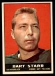 1961 Topps #39  Bart Starr  Front Thumbnail