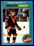 1979 Topps #53  Thomas Gradin  Front Thumbnail