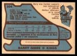 1979 O-Pee-Chee #304  Barry Gibbs  Back Thumbnail