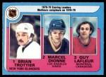 1979 O-Pee-Chee #3   -  Brian Trottier / Marcel Dionne / Guy LaFleur Scoring Leaders Front Thumbnail