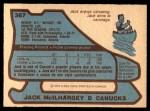 1979 O-Pee-Chee #367  Jack McIlhargey  Back Thumbnail