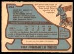 1979 O-Pee-Chee #263  Stan Jonathan  Back Thumbnail