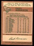 1978 O-Pee-Chee #389  Chuck Arnason  Back Thumbnail