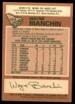 1978 O-Pee-Chee #103  Wayne Bianchin  Back Thumbnail