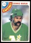 1978 O-Pee-Chee #141  Dennis Maruk  Front Thumbnail