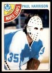1978 O-Pee-Chee #123  Paul Harrison  Front Thumbnail