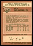 1978 O-Pee-Chee #308  Rick Bragnalo  Back Thumbnail