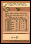 1978 O-Pee-Chee #341  Randy Holt  Back Thumbnail