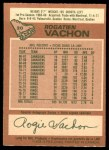 1978 O-Pee-Chee #20  Rogatien Vachon  Back Thumbnail