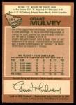1978 O-Pee-Chee #261  Grant Mulvey  Back Thumbnail