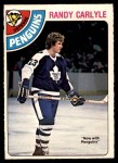1978 O-Pee-Chee #312  Randy Carlyle  Front Thumbnail