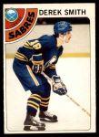 1978 O-Pee-Chee #222  Derek Smith  Front Thumbnail
