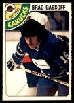 1978 O-Pee-Chee #388  Brad Gassoff  Front Thumbnail
