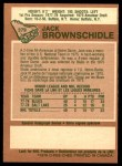 1978 O-Pee-Chee #379  Jack Brownschidle  Back Thumbnail