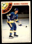1978 O-Pee-Chee #143  Bernie Federko  Front Thumbnail