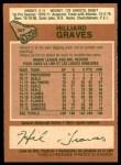 1978 O-Pee-Chee #357  Hilliard Graves  Back Thumbnail