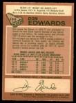 1978 O-Pee-Chee #150  Don Edwards  Back Thumbnail