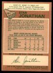 1978 O-Pee-Chee #181  Stan Jonathan  Back Thumbnail