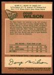 1978 O-Pee-Chee #168  Doug Wilson  Back Thumbnail