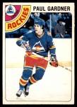 1978 O-Pee-Chee #88  Paul Gardner  Front Thumbnail
