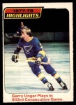 1978 O-Pee-Chee #5  Garry Unger  Front Thumbnail