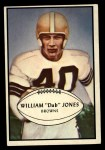 1953 Bowman #46  William Jones  Front Thumbnail