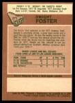 1978 O-Pee-Chee #271  Dwight Foster  Back Thumbnail