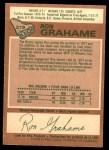 1978 O-Pee-Chee #219  Ron Grahame  Back Thumbnail