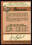 1978 O-Pee-Chee #243  Jim Bedard  Back Thumbnail