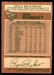 1978 O-Pee-Chee #188  Rene Robert  Back Thumbnail