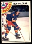 1978 O-Pee-Chee #323  Ron Delorme  Front Thumbnail